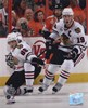 Patrick Kane &amp; Jonathan Toews 2009-10 NHL Stanley Cup Finals Game 3 Action (#11)