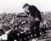 Elvis Presley on stage with fans (#1)