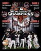 San Francisco Giants 2012 World Series Champions PF Gold Composite - Limited Edition