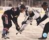 Jonathan Toews & Sidney Crosby 2014 NHL Stadium Series Action