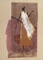 Women with a Basket Fine Art Print