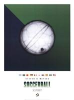 Soccerball X-Ray Framed Print