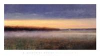 Mist Hovering Fine Art Print