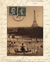 Paris En Flanant Fine Art Print
