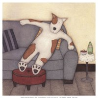 Lounging Dog Fine Art Print