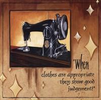 Good Judgement Fine Art Print