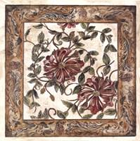 Zinnia Tapestry Fine Art Print