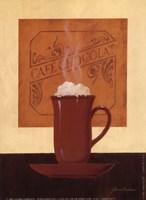 Cafe Chocolat Fine Art Print