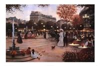 Parisian Promenade Fine Art Print