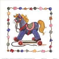Horse Pull Toy Fine Art Print