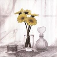 Vanity Floral IV Fine Art Print