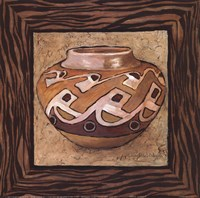 Tribal Vessel I Fine Art Print