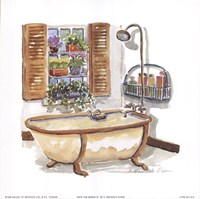 Bath Tub Series IV Fine Art Print