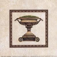 Planter Urn II Fine Art Print