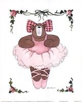 Ballerina Bear I Framed Print
