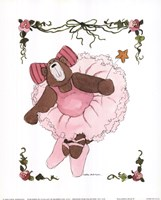 Ballerina Bear II Framed Print
