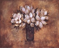 Antique Magnolia I Fine Art Print