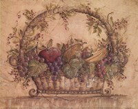 Harvest Fruit II Framed Print