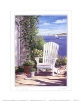 Garden on the Bluff Fine Art Print