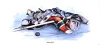 Hockey Puck Fine Art Print