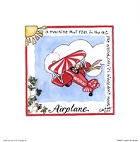Airplane Fine Art Print