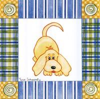 Pup Prints III Fine Art Print