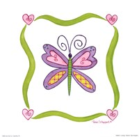 Lovebugs-Butterfly Fine Art Print