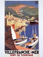 Villefranche Sur Mer Framed Print