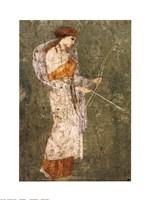 Pompei-Diana Framed Print
