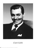 Clark Gable Fine Art Print