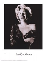 Marilyn Monroe - dark portrait Fine Art Print