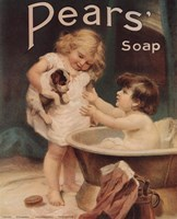Pear's Soap Fine Art Print