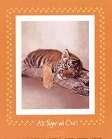 All Tiger-Ed Out Framed Print