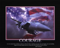 Patriotic-Courage Fine Art Print
