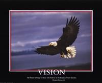 Patriotic-Vision Framed Print