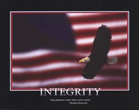Patriotic-Integrity Fine Art Print