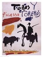Toros Y Toreros Fine Art Print