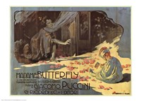 Pucini-Madama Butterfly Fine Art Print