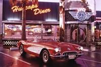 Corvette, 1958 - Diner Wall Poster