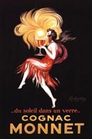 Cognac Monnet Framed Print