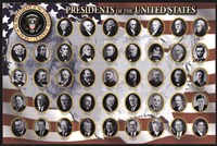 American Presidents Wall Poster