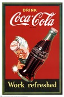 Coca-Cola Trade Mark Framed Print