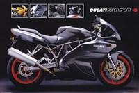 Motorcycle Ducati Super Sport Fine Art Print