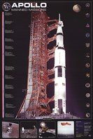 Apollo 11 Manned Mission Fine Art Print
