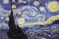 The Starry Night, c.1889 Wall Poster