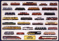 Modern Locomotives Framed Print