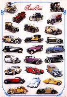Classic Cars Wall Poster
