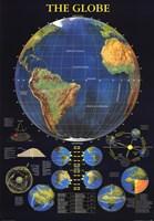 Globe Wall Poster