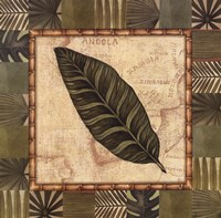 Tropical Leaf III Framed Print