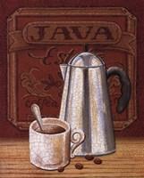 Cafe Mundo III Framed Print